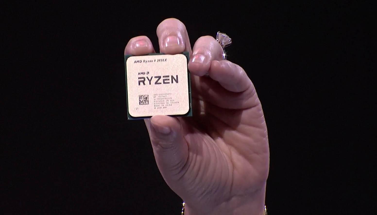 El AMD Ryzen 9 3950X superaría al Intel Core i9-9980XE