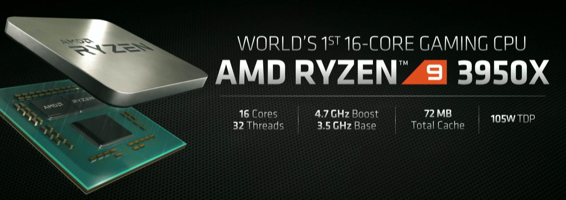 Ryzen 9 3950X - Especificaciones