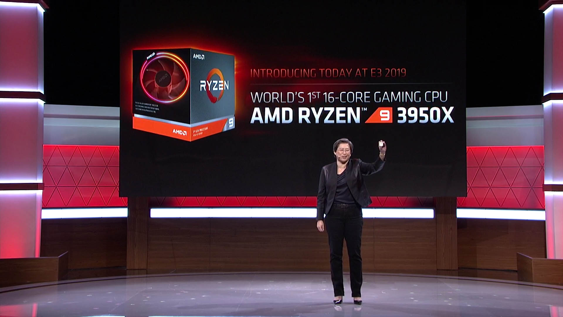 AMD anuncia su nuevo AMD Ryzen 9 3950X de 16 núcleos