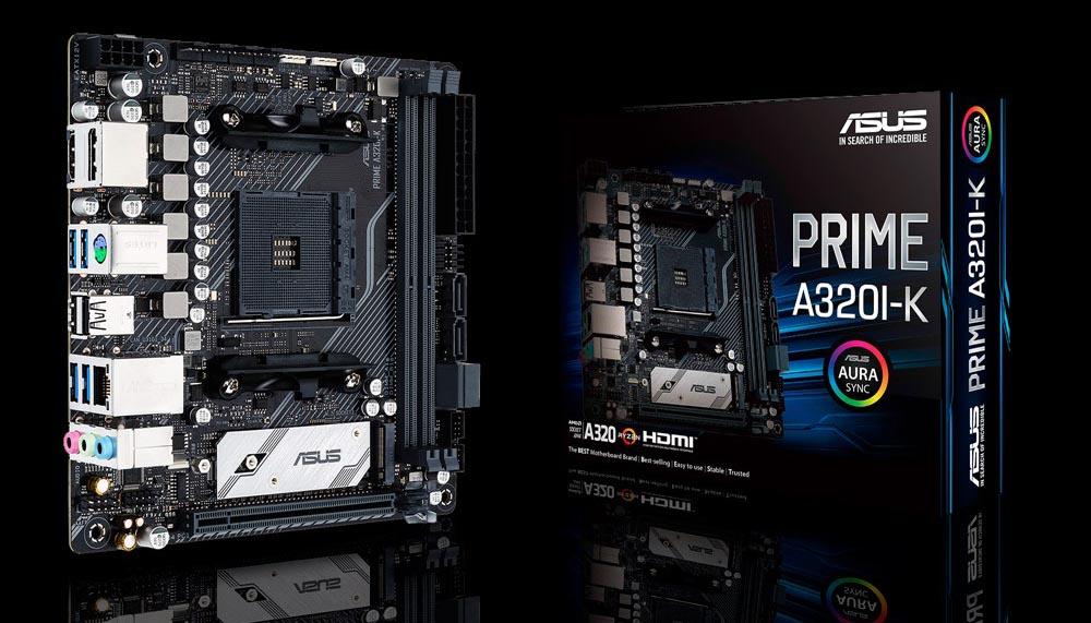 Asus presenta su nueva placa base Mini-ITX, la Asus Prime A320I-K