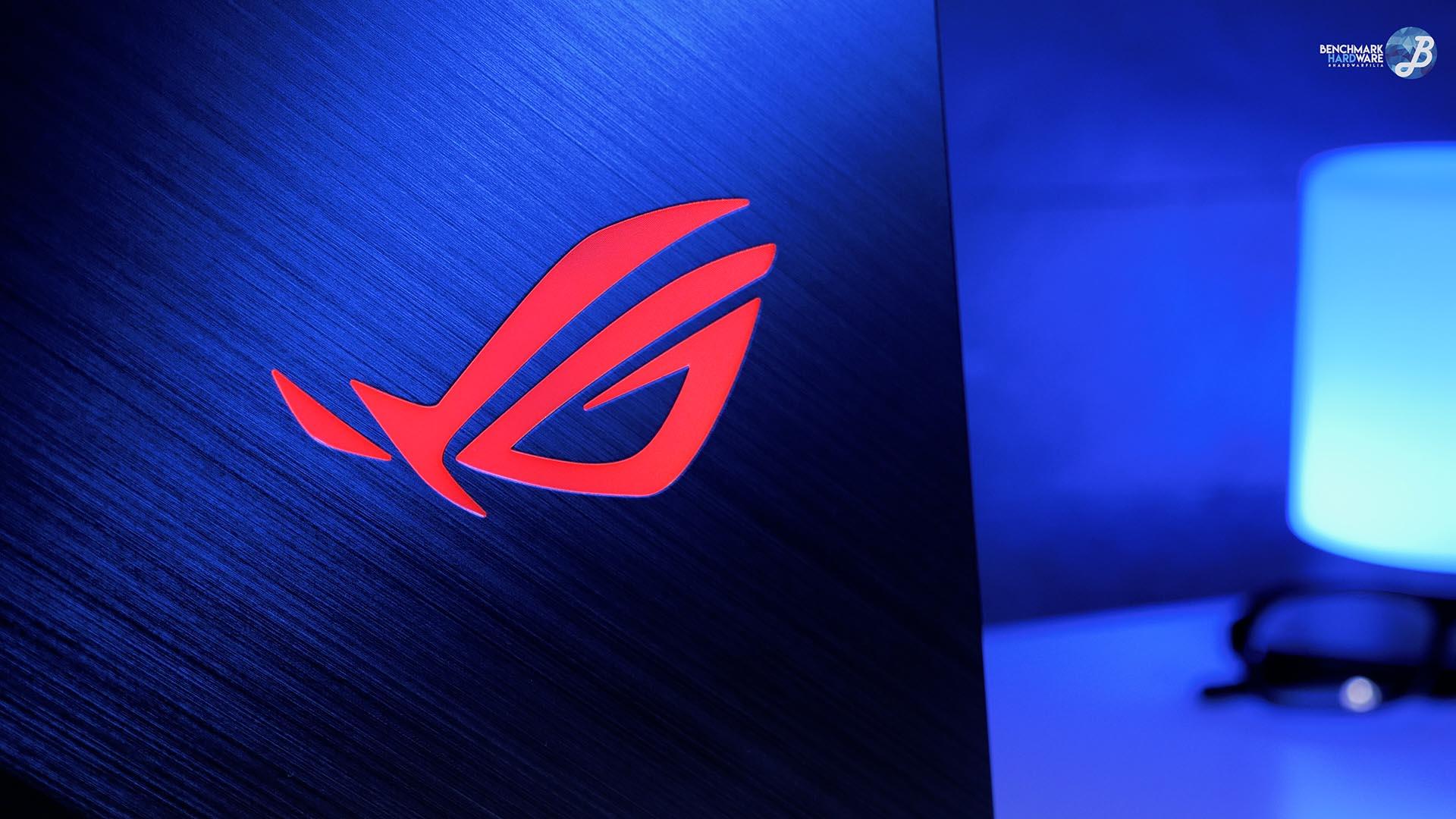 Asus Scar II - Logo ROG RGB