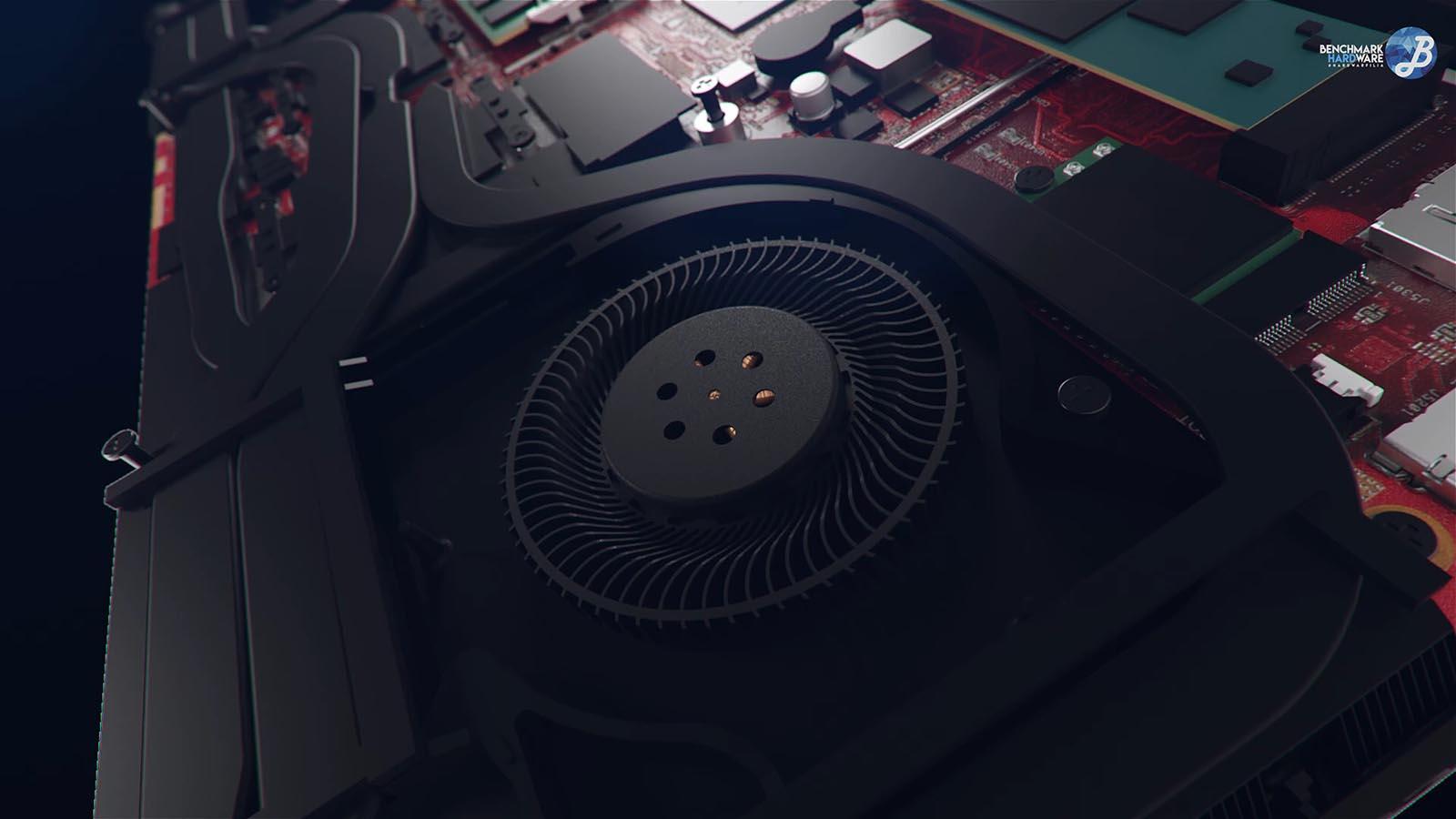 Asus Scar II - Ventilador