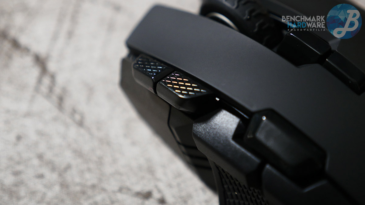 Ironclaw RGB Wireless - Botones adicionales