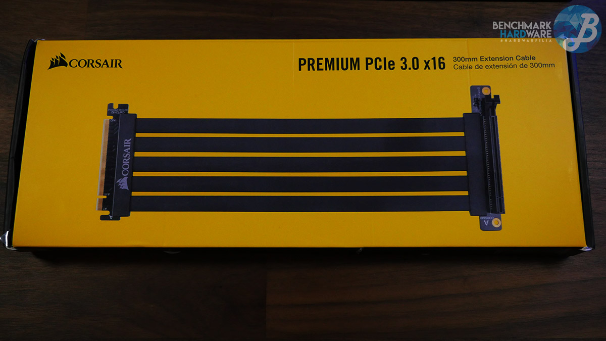 Corsair Riser PCIe x16 -Packaging