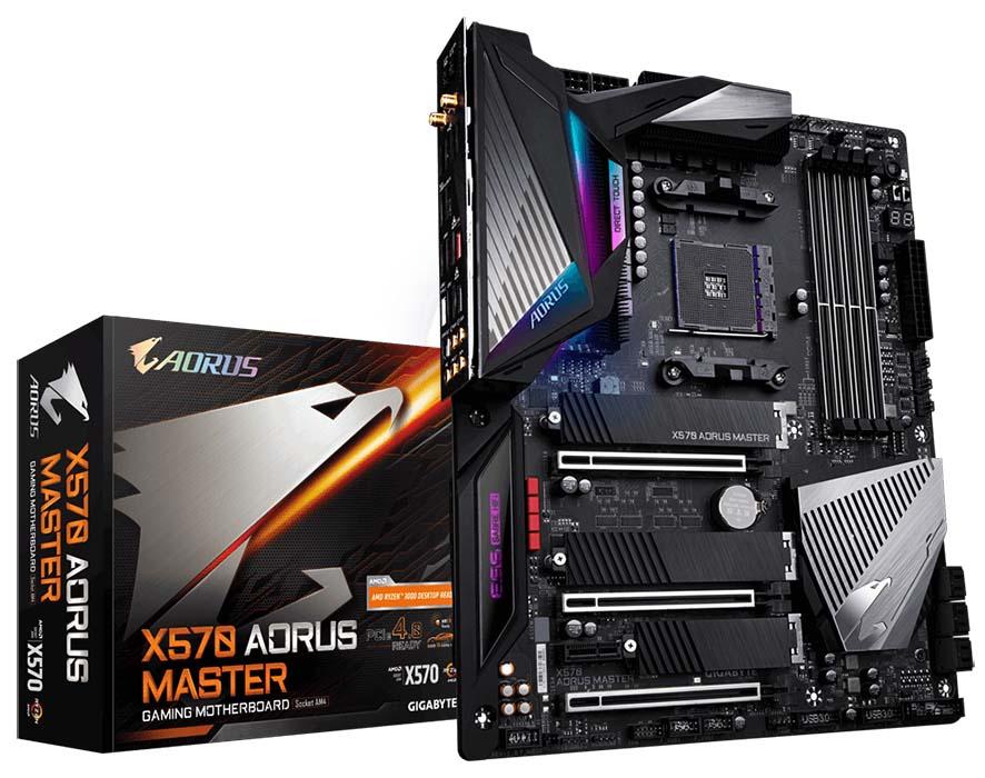 Gigabyte X570 Aorus Master lanzada oficialmente en el mercado