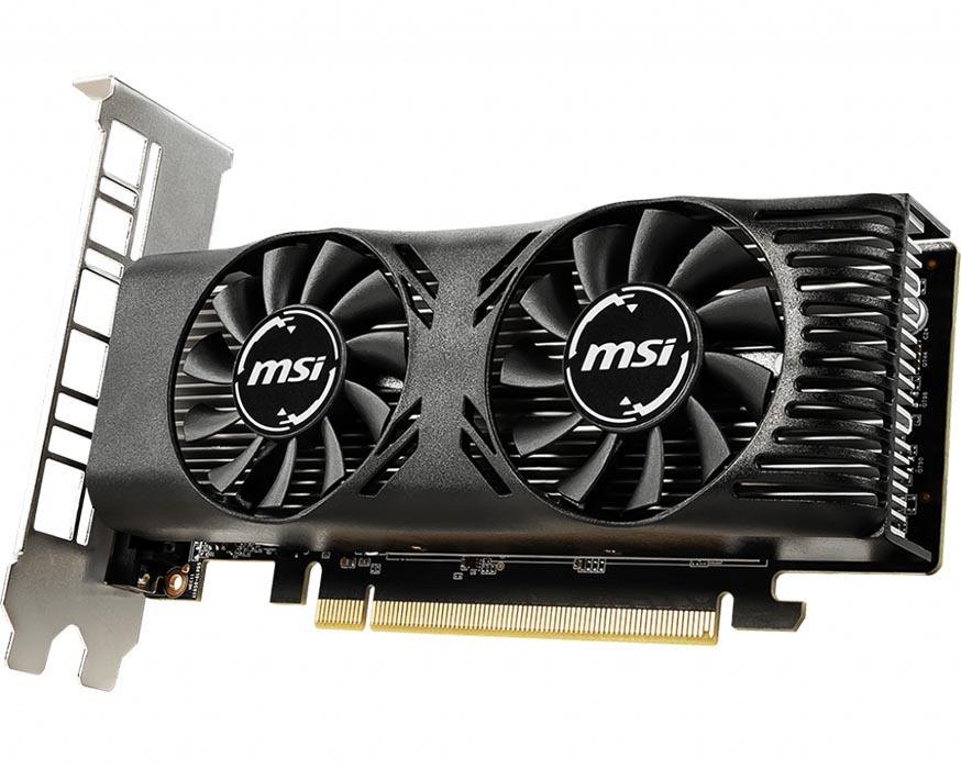 MSI presenta su nueva gráfica MSI GTX 1650 Lower Profile Design