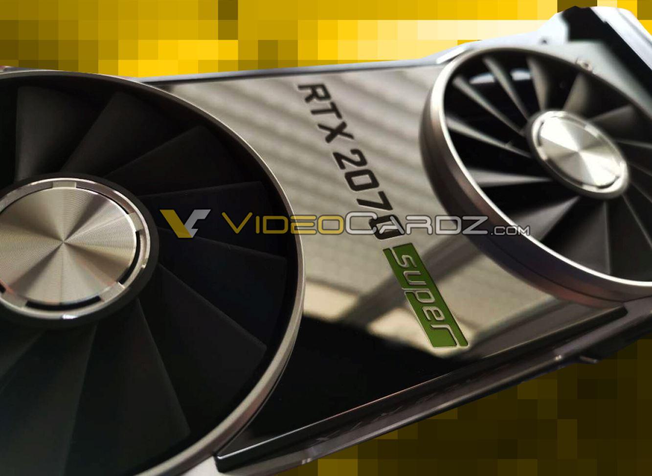 Se filtran las especificaciones de las NVIDIA RTX 2070 Super y la RTX 2060 Super