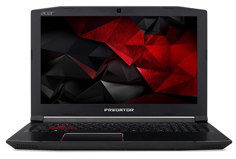 "Acer Predator Helios 300 - Ordenador portátil de 15.6"" FHD LED LCD (Intel Core i7-8750H, 16GB de RAM, 128GB SSD + 1TB HDD, NVIDIA GeForce GTX 1060, Boot-up Linux) Negro - Teclado QWERY Español"