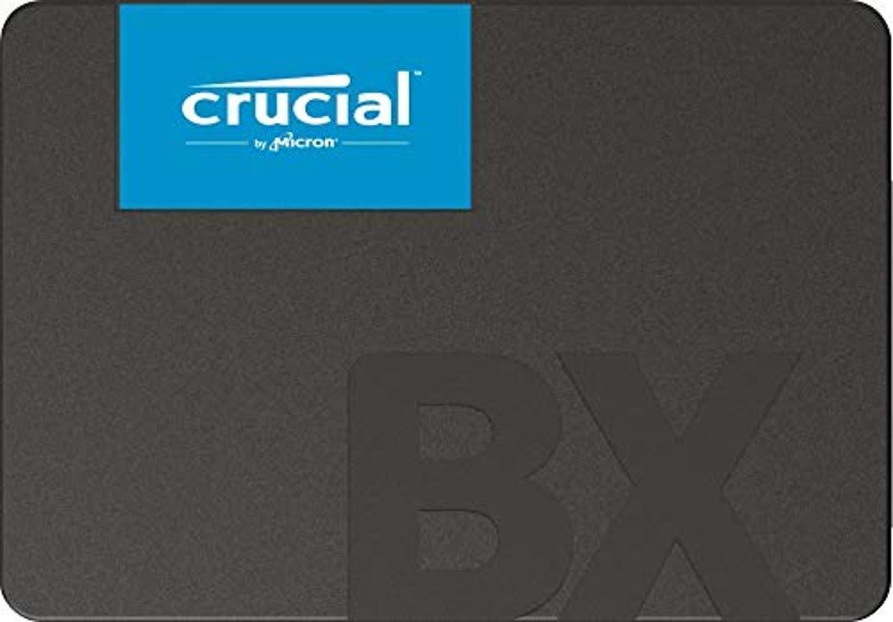 Crucial BX500 CT960BX500SSD1 - Disco Duro Sólido Interno SSD de 960 GB (3D NAND, SATA, 2,5 Pulgadas)
