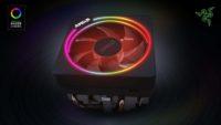 El AMD Wraith Prism recibe soporte de Razer Chroma para su RGBs