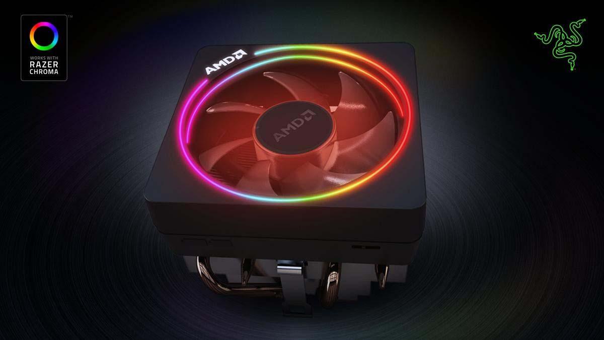 El AMD Wraith Prism recibe soporte de Razer Chroma para su RGB