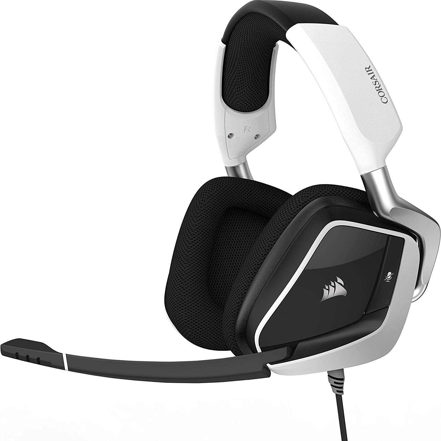 Corsair Void Pro RGB USB - Auriculares Gaming (PC, USB, Dolby 7.1) Color Blanco