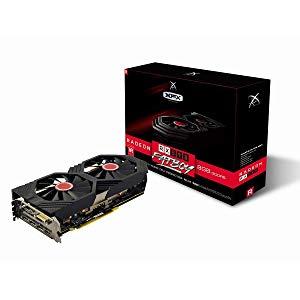 XFX RX-590P8DFD6 - Tarjeta gráfica (Radeon RX 590, 8 GB, GDDR5, 256 bit, 4096 x 2160 Pixeles, PCI Express x16 3.0)