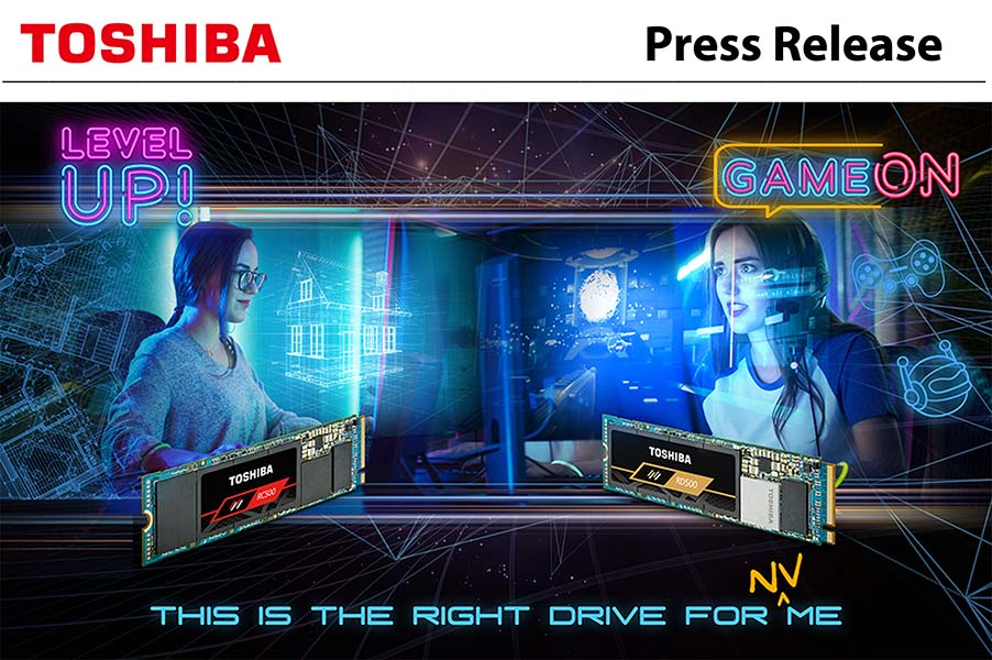 Toshiba lanza sus SSD NVMe de 96 capas, los Toshiba RD500 y RC500