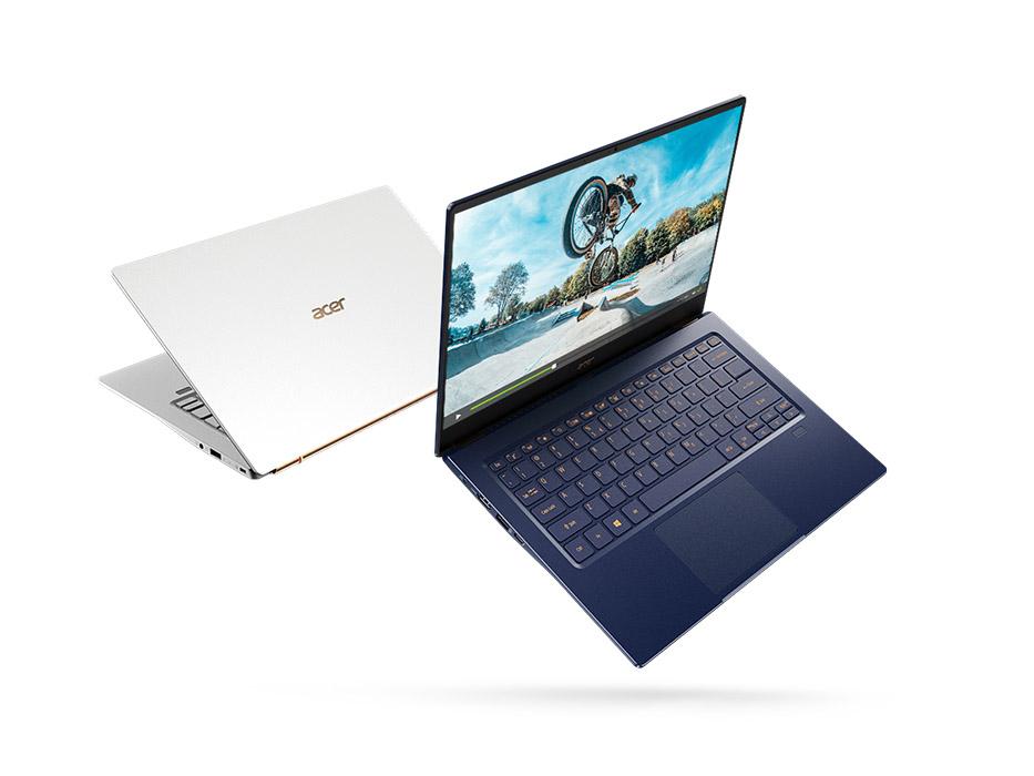 Acer presenta su nuevo portátil ultraligero, el Acer Swift 5 con NVIDIA GeForce MX250
