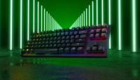 Razer presenta su nuevo tecladocon switches óptico-lineales, el Razer Huntsman Tournament Edition