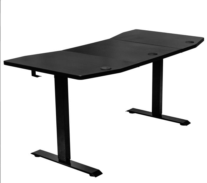 Nitro Concepts presenta su nueva mesa gaming con regulador de altura