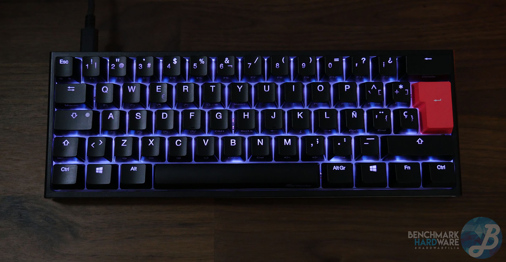 Teclado Gaming Ducky One 2 Mini RGB MX Brown