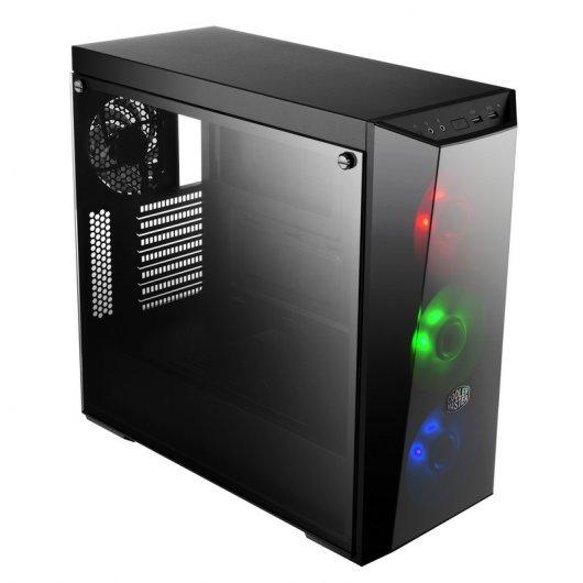 Cooler Master MasterBox Lite 5 RGB USB 3.0 Negra Cristal Templado